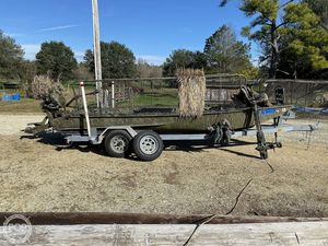 "Used Kliebert 18.8 With Hunt Deck x 48"" Bottom Duck Fishing Boat For Sale"