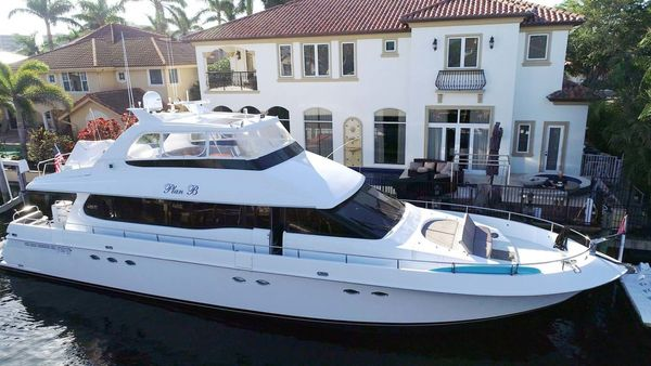Used Lazzara Open Bridge Pilothouse Boat For Sale