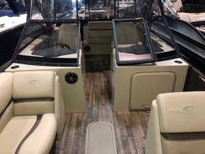 Used Crest 250 Continental Pontoon Boat For Sale
