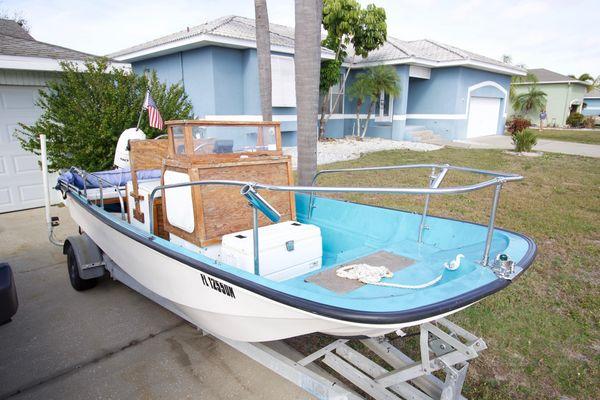 Used Boston Whaler 170 Montauk Saltwater Fishing Boat For Sale