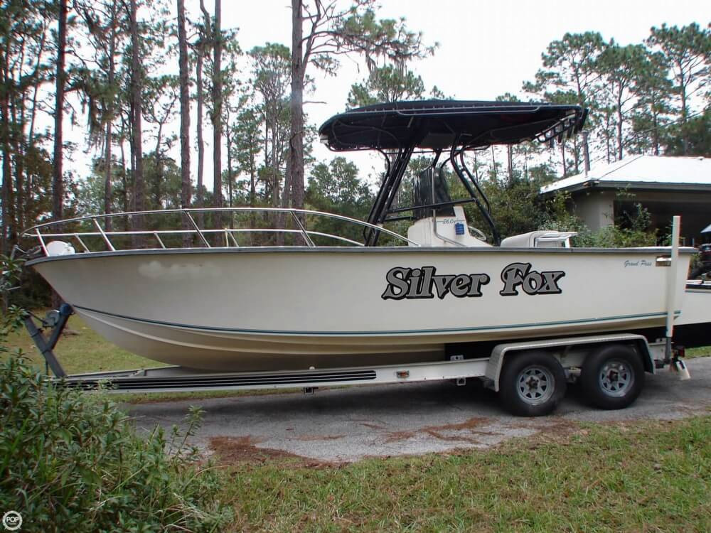 1997 used grand pass 26 center console fishing boat for for Center console fishing boats for sale