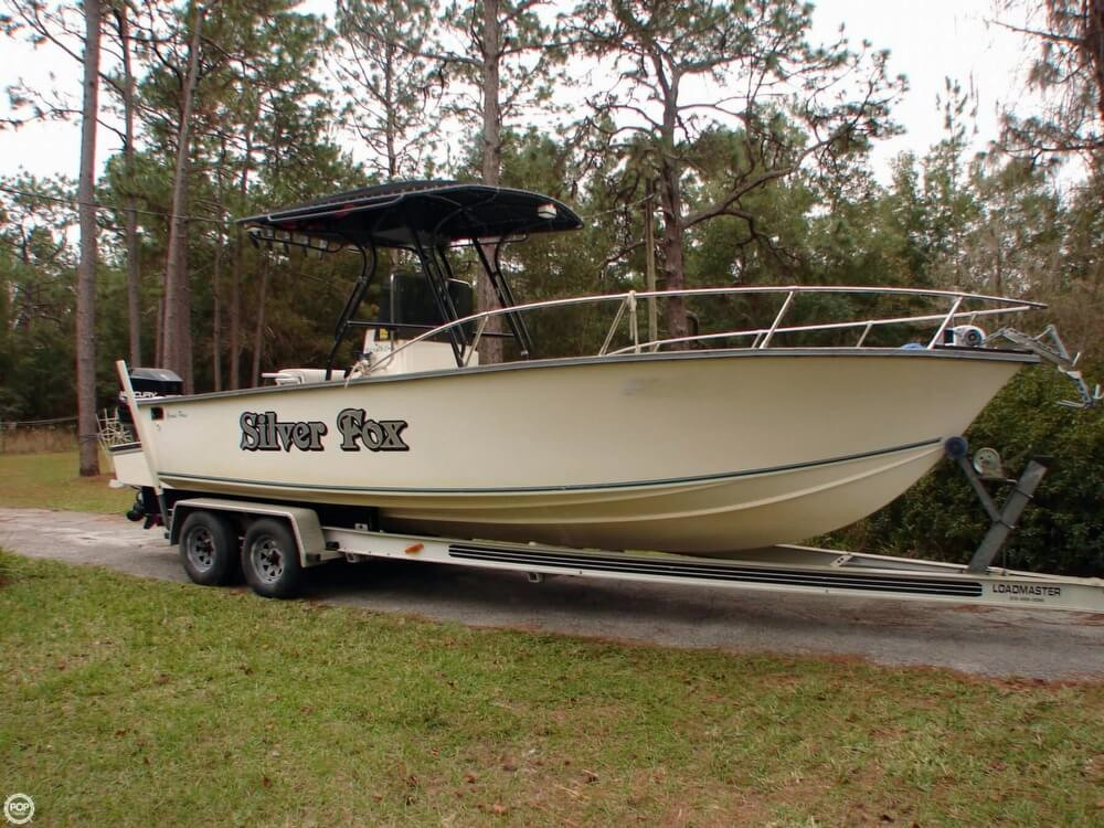 1997 used grand pass 26 center console fishing boat for for Used center console fishing boats for sale