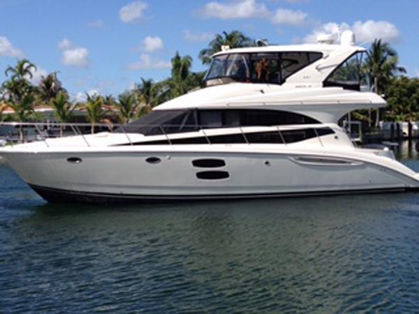 Used Meridian 441 Sedan Bridge Motor Yacht For Sale