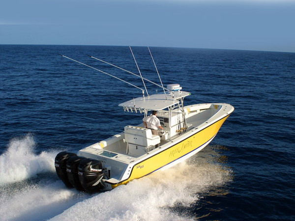 Used Sea Vee 34 Open Center Console Fishing Boat For Sale
