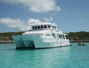 Used Theriault & Son Custom Catamaran Power Catamaran Boat For Sale