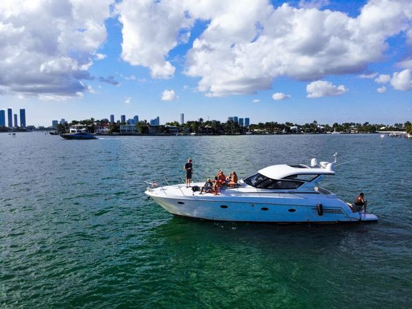 Used Carver Trojan 440 Express Cruiser Boat For Sale