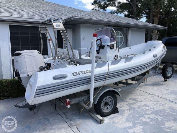 Used Brig Navigator 485 Skiff Fishing Boat For Sale