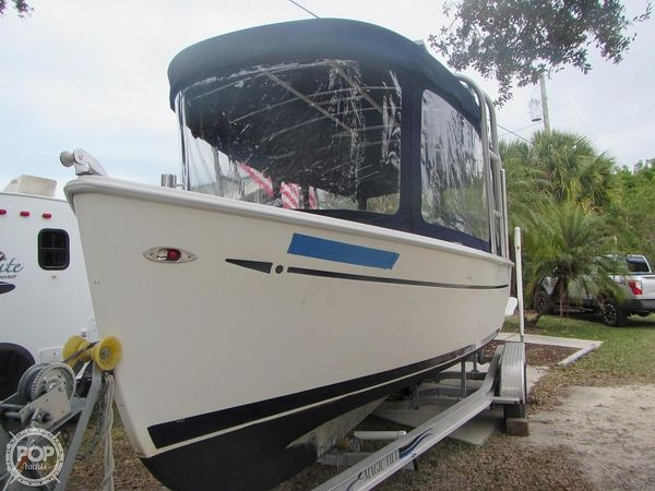 Used Island Packet Seascape L24e Electric Launch Runabout Boat For Sale
