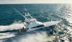 New Hatteras GT59 Convertible Fishing Boat For Sale