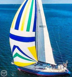 Used C & C Yachts 41 Wing Keel Sloop Sailboat For Sale