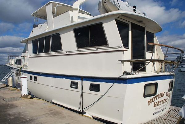 Used Hatteras 58 Motor Yacht Pilothouse Boat For Sale