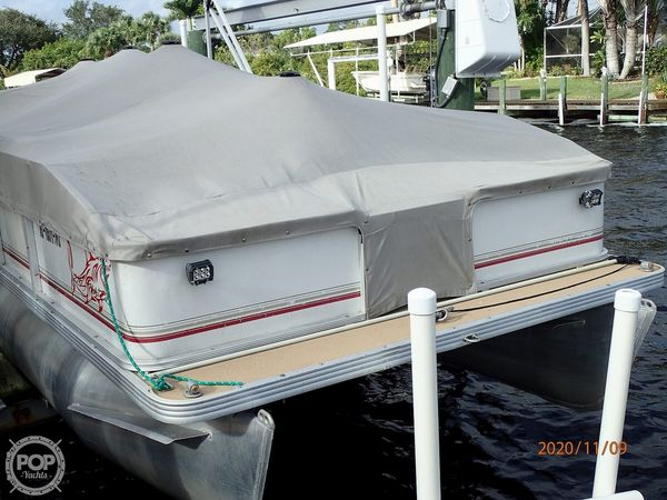 Used Sunset Bay 210 Fish Pontoon Boat For Sale
