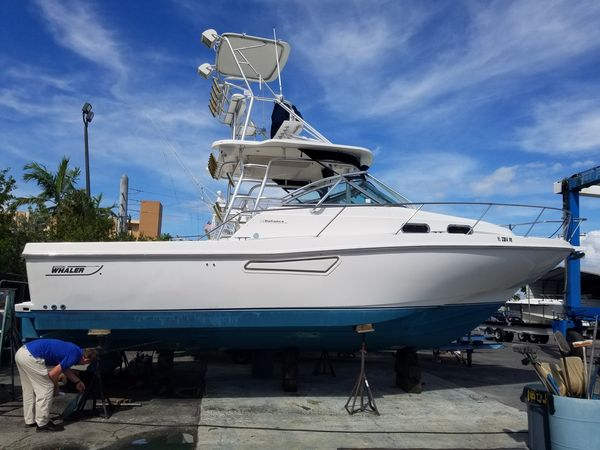 Used Boston Whaler Defiance Sports Fishing Boat For Sale