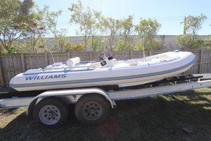 Used Williams Jet Tenders Sportjet 520 Tender Boat For Sale