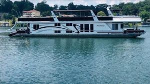 Used Sharpe 85X16 House Boat For Sale
