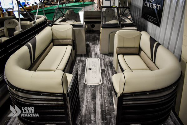 New Crest Continental 250 SLS Pontoon Boat For Sale