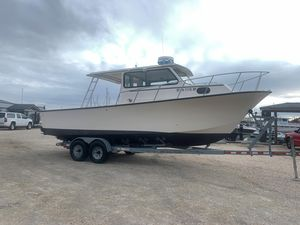 Used May-Craft 2700 Pilothouse Cabin Saltwater Fishing Boat For Sale