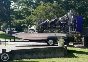 Used Alumitech Six Pack Air Boat For Sale