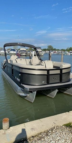 Used Barletta E22Q SS Pontoon Boat For Sale