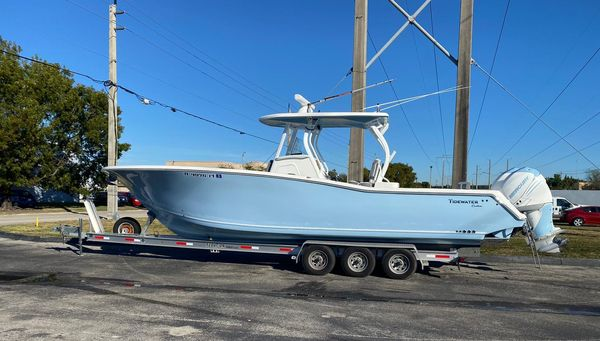 Used Tidewater 320 adventure Center Console Fishing Boat For Sale