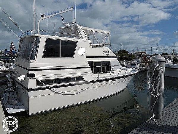 Used Hyatt 37 Sundeck Trawler Boat For Sale