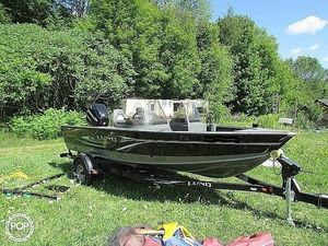 Used Lund 1725 Explorer SS Aluminum Fishing Boat For Sale