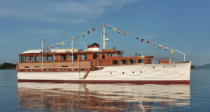 Used Classic NY Yacht, Launch and Engine Antique and Classic Boat For Sale