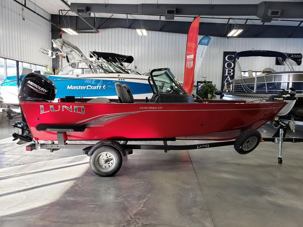 New Lund 1650 Angler Sport Freshwater Fishing Boat For Sale