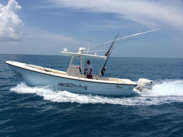 Used Panga New Horizon Center Console Fishing Boat For Sale
