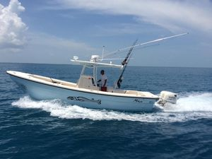 Used Panga New Horizon Center Console Fishing Boat For Sale