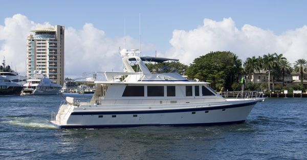 Used Offshore Yachts Flushdeck Motor Yacht For Sale
