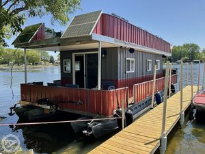 Used Crest 38 House Boat For Sale