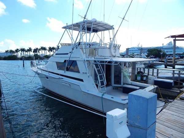 Used Luhrs 400 Tournament Convertible Fishing Boat For Sale