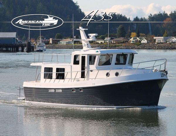 New American Tug 435 Tug Boat For Sale