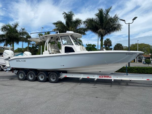 Used Solace 345 Center Console Fishing Boat For Sale