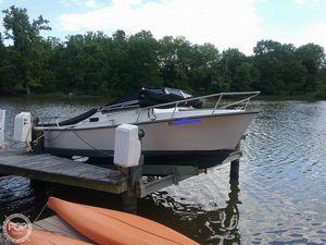 Used Shamrock 20 Walkthrough Cuddy Runabout Boat For Sale