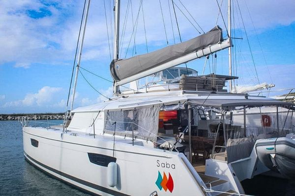 Used Fountaine Pajot Saba 50 Catamaran Sailboat For Sale