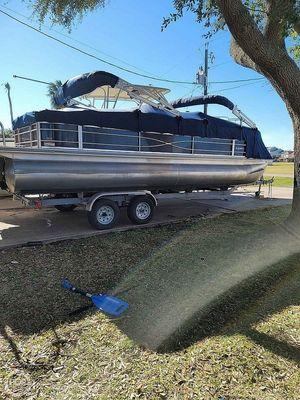 Used Xcursion X23rfc X3 Pontoon Boat For Sale