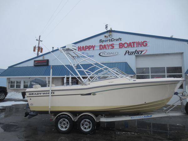 Used Grady-White 205 Freedom Freshwater Fishing Boat For Sale