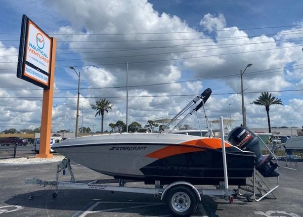 New Starcraft SVX 171 OB Deck Boat For Sale