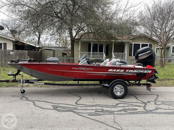 Used Bass Tracker Pro TWX175 Bass Boat For Sale