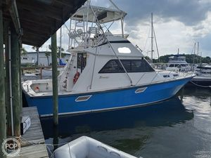 Used Rampage 40 Convertible Sports Fishing Boat For Sale