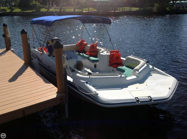 Used Hurricane Fun Deck GS 201 Deck Boat For Sale