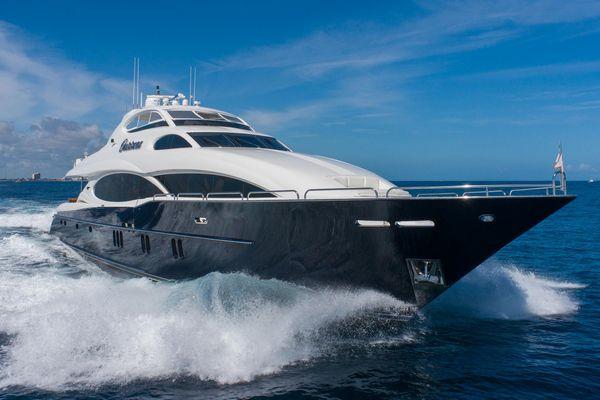 Used Lazzara Yachts Open Bridge Motor Yacht For Sale