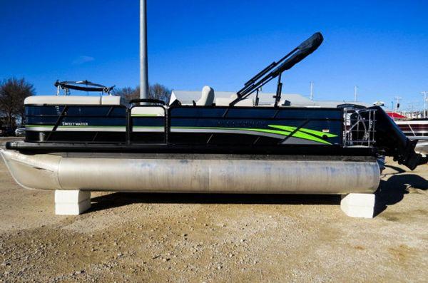 New Godfrey Pontoons SW 2286 SFL iMPACT PLUS 29 in. Center Tu Pontoon Boat For Sale