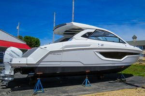 New Cruisers Yachts 42GLS TRIPLE OB Pontoon Boat For Sale