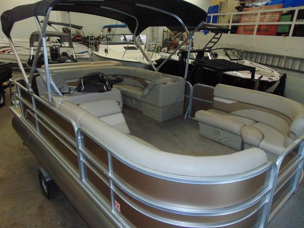 Used Misty Harbor 205 CR Pontoon Boat For Sale