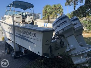 Used Hydra-Sports Vector 2500WA Walkaround Fishing Boat For Sale