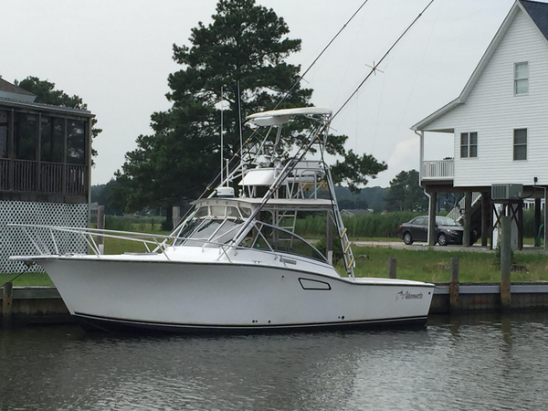 Used Albemarle 305 Express Fisherman Saltwater Fishing Boat For Sale