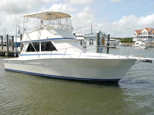 Used Viking Yachts 35 Convertible Fishing Boat For Sale